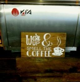 Wake Up at our Espresso Machine